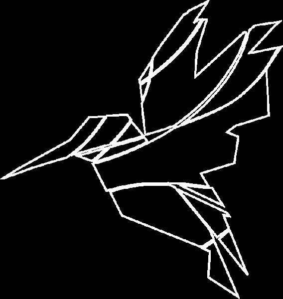 TransMed Bird White Transparent Left